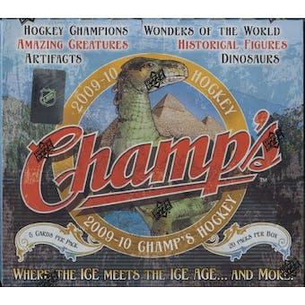 2009/10 Upper Deck NHL Champs Hockey Hobby Box