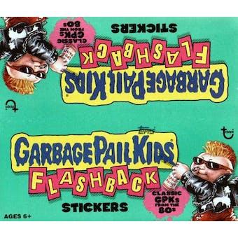 Garbage Pail Kids Flashback Sticker Box (2010 Topps)