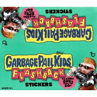 Garbage Pail Kids Flashback Sticker Box (2010 Topps)