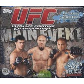 2010 Topps UFC Main Event Hobby Box