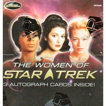 Women of Star Trek Trading Cards Box (Rittenhouse 2010)