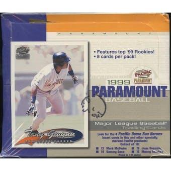 1999 Pacific Paramount Baseball Retail 20 Pack Box