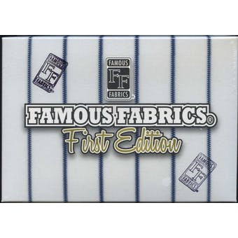 2010 Famous Fabrics First Edition Hobby Box (Pack)