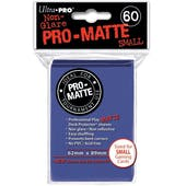 Ultra Pro Yu-Gi-Oh! Size Pro-Matte Blue Deck Protectors (60 count pack)