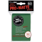 Ultra Pro Yu-Gi-Oh! Size Pro-Matte Green Deck Protectors (60 count pack)