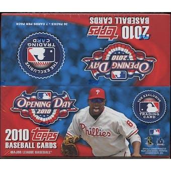 2010 Topps Opening Day Baseball Box