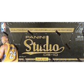 2009/10 Panini Studio Basketball Hobby Box