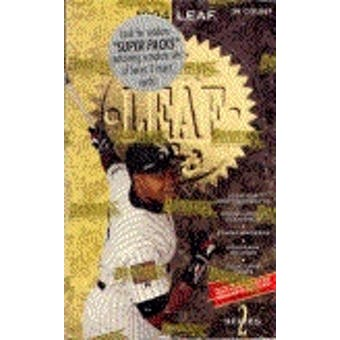 1994 Leaf Series 2 Baseball Hobby Box