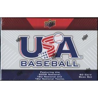 2010 Upper Deck USA Baseball Hobby Set (Box)