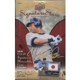2009 Upper Deck Signature Stars Baseball Hobby Box