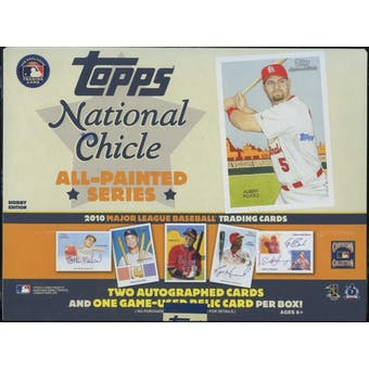 2010 Topps National Chicle Baseball Hobby Box