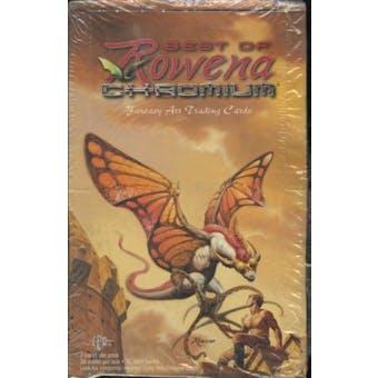 Best Of Rowena Chromium Fantasy Art Trading Cards Box
