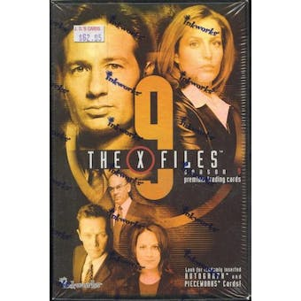 X-Files Season 9 Box (2003 Inkworks)
