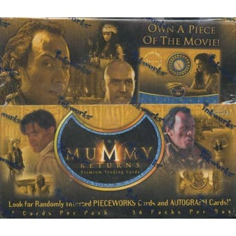 The Mummy Returns Box (2001 Inkworks)
