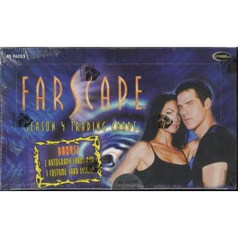 Farscape Season 4 Trading Cards Box (Rittenhouse)