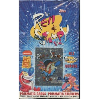 The Ren & Stimpy Show - All Prismatic Series Box (1993 Topps)