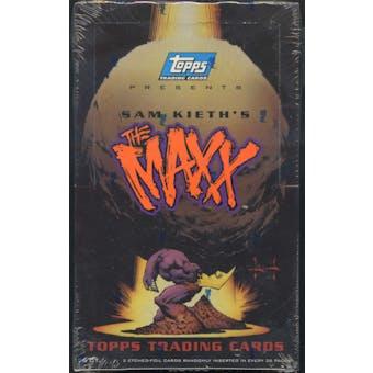 Sam Keith's The Maxx Trading Cards Box (1993 Topps)