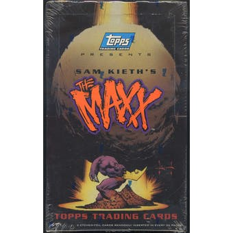 Sam Keith's The Maxx Trading Cards Box (1993 Topps)