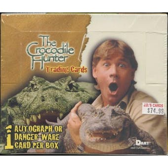 The Crocodile Hunter Trading Cards Box