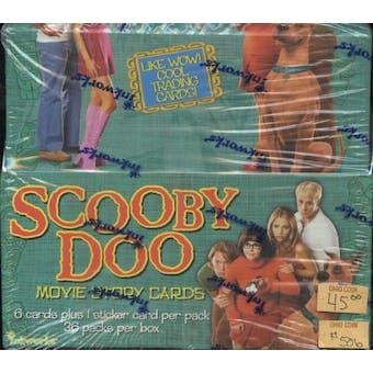 Scooby Doo Movie Story Cards Box (2007 Inkworks)