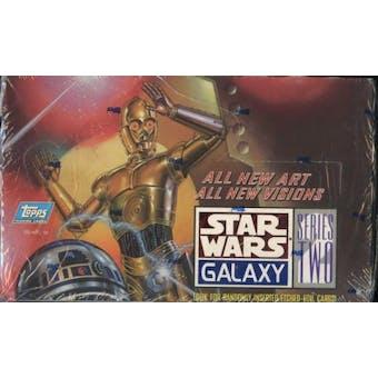 Star Wars Galaxy Series 2 Box (1994 Topps) (Reed Buy)