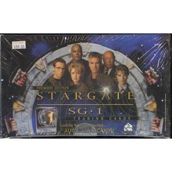 Stargate SG-1 Premier Edition Trading Cards Box (Rittenhouse 2001)