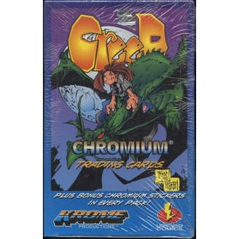Creed Chromium Trading Cards Box