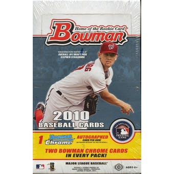 2010 Bowman Baseball Hobby Box
