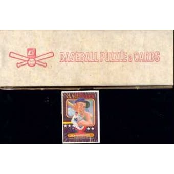 1984 Donruss Baseball Factory Set