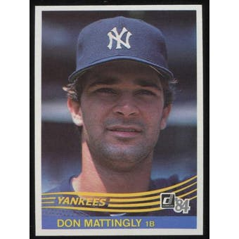 1984 Donruss Baseball Complete Set (NM-MT)