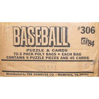 1984 Donruss Baseball 72-Pack Rack Case