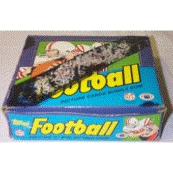 1984 Topps Football Cello Box