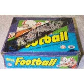 1984 Topps Football Cello Box