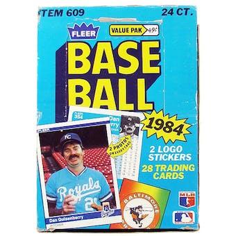 1984 Fleer Baseball Cello Box