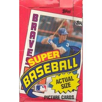 1984 Topps Super Baseball Wax Box