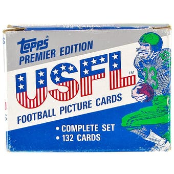 1984 Topps USFL Football Factory Set
