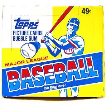 1984 Topps Baseball Cello Box
