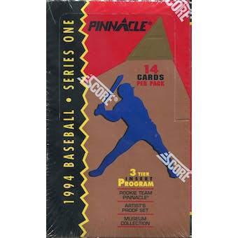 1994 Pinnacle Series 1 Baseball Hobby Box