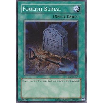 Yu-Gi-Oh Turbo Pack 2 Single Foolish Burial Super Rare NEAR MINT (NM)