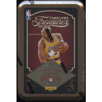 2009/10 Panini Timeless Treasures Basketball Hobby Box (Tin)