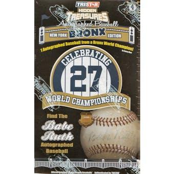 2010 TriStar Bronx Edition Series 4 Baseball Hobby Box