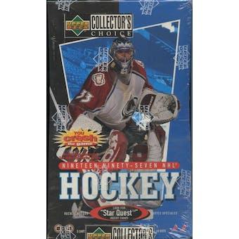 1997/98 Upper Deck Collector's Choice Hockey Hobby Box