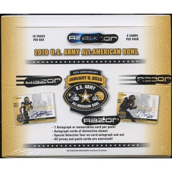 2010 Razor U.S. Army All American Bowl Football Hobby Box