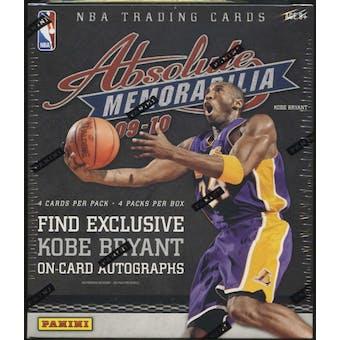 2009/10 Panini Absolute Memorabilia Basketball Hobby Box