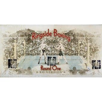 2010 Ringside Round One KO Boxing Hobby Box