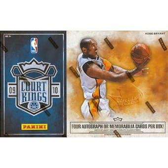 2009/10 Panini Court Kings Basketball Hobby Box