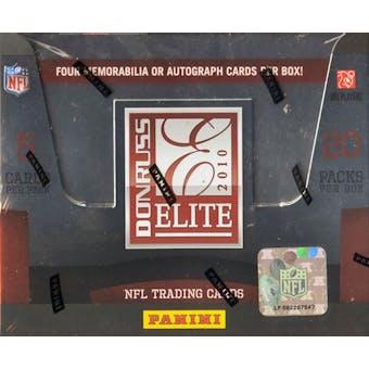 2010 Donruss Elite Football Hobby Box (Panini)