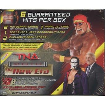 2010 Tristar TNA The New Era Wrestling Hobby Box
