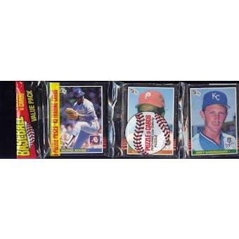 1985 Donruss Baseball Rack Pack (Reed Buy)