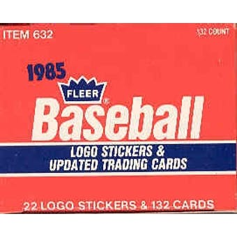 1985 Fleer Update Baseball Factory Set